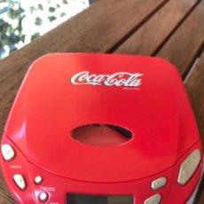 Coleccionismo de Coca-Cola y Pepsi: REPRODUCTOR CD COCA-COLA.. Lote 184445413
