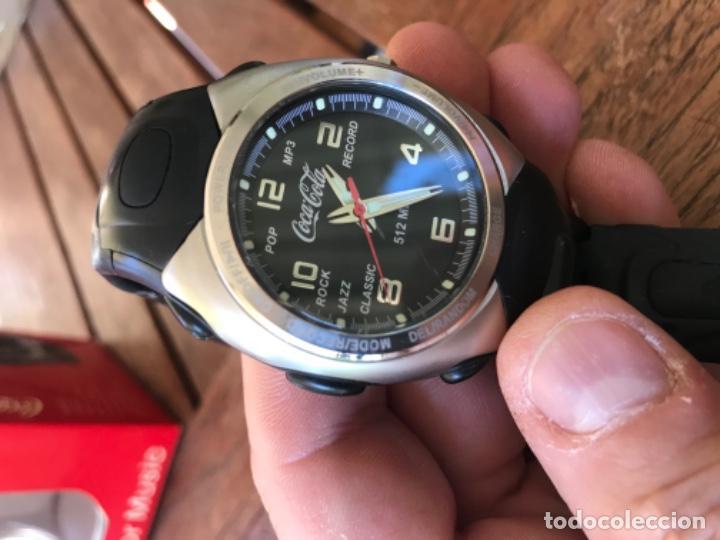 Coleccionismo de Coca-Cola y Pepsi: Reloj Coca-Cola MP3 and Voice Recorder. Con USB. Movimiento Coca-Cola - Foto 7 - 184446207