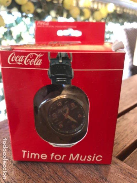 Coleccionismo de Coca-Cola y Pepsi: Reloj Coca-Cola MP3 and Voice Recorder. Con USB. Movimiento Coca-Cola - Foto 9 - 184446207