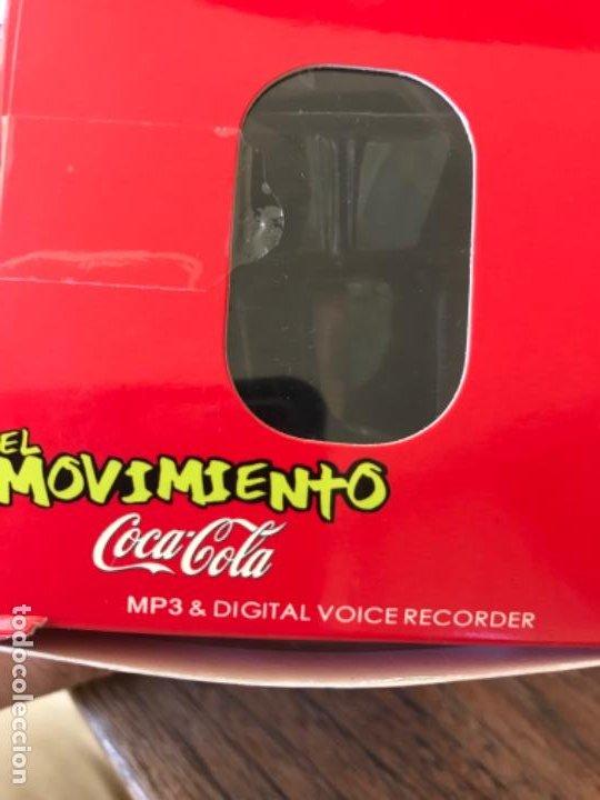 Coleccionismo de Coca-Cola y Pepsi: Reloj Coca-Cola MP3 and Voice Recorder. Con USB. Movimiento Coca-Cola - Foto 10 - 184446207