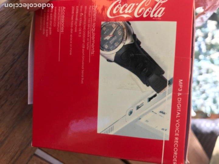 Coleccionismo de Coca-Cola y Pepsi: Reloj Coca-Cola MP3 and Voice Recorder. Con USB. Movimiento Coca-Cola - Foto 11 - 184446207