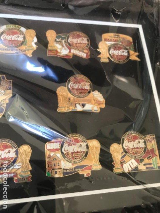 Coleccionismo de Coca-Cola y Pepsi: Colección Pins Coca -Cola World Cup 2002 Korea Japón. Ciudades Sede. Regalo VIP. - Foto 3 - 184455585