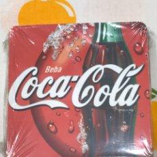 Coleccionismo de Coca-Cola y Pepsi: LOTE DE 6 POSAVASOS DE COCACOLA, DE CORCHO, SIN ESTRENAR, CON SU PRECINTO DE PLÁSTICO.. Lote 184665028