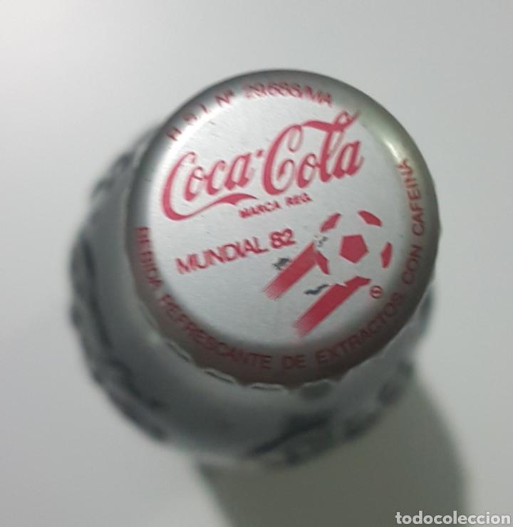 Coleccionismo de Coca-Cola y Pepsi: Botella Coca Cola año 82 Mundial sin abrir - Foto 4 - 185337120