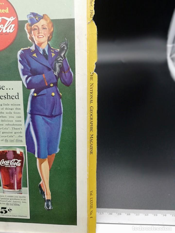 Coleccionismo de Coca-Cola y Pepsi: LAMINA PUBLICITARIA COCA COLA 1942 25X17,5 CM - Foto 2 - 185736252