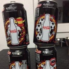 Coleccionismo de Coca-Cola y Pepsi: LATAS COCA COLA. Lote 185932107