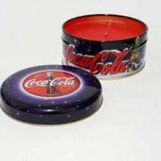 Coleccionismo de Coca-Cola y Pepsi: VELA COCA COLA COLECCION COCA-COLA. Lote 186115052