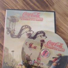 Coleccionismo de Coca-Cola y Pepsi: COCA COLA DVD PUBLICIDAD COKE RARO NAVIDAD ANUNCIO. Lote 186129895