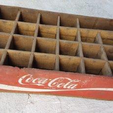 Coleccionismo de Coca-Cola y Pepsi: ANTIGUA CAJA MADERA COCA COLA. Lote 186413745