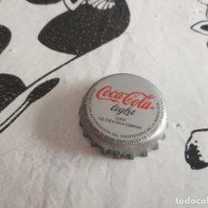 Coleccionismo de Coca-Cola y Pepsi: CHAPA COCA COLA LIGHT (Z). Lote 186926886