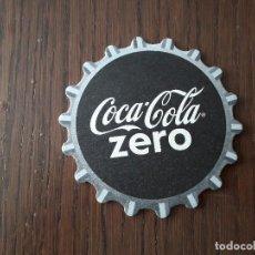 Coleccionismo de Coca-Cola y Pepsi: POSAVASOS DE COCA COLA, COCA COLA ZERO. Lote 187124095