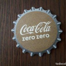 Coleccionismo de Coca-Cola y Pepsi: POSAVASOS DE COCA COLA, COCA COLA ZERO ZERO. Lote 187124140