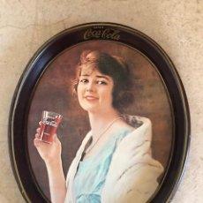 Coleccionismo de Coca-Cola y Pepsi: ANTIGUA BANDEJA DE COCA COLA. VINTAGE. Lote 187221015