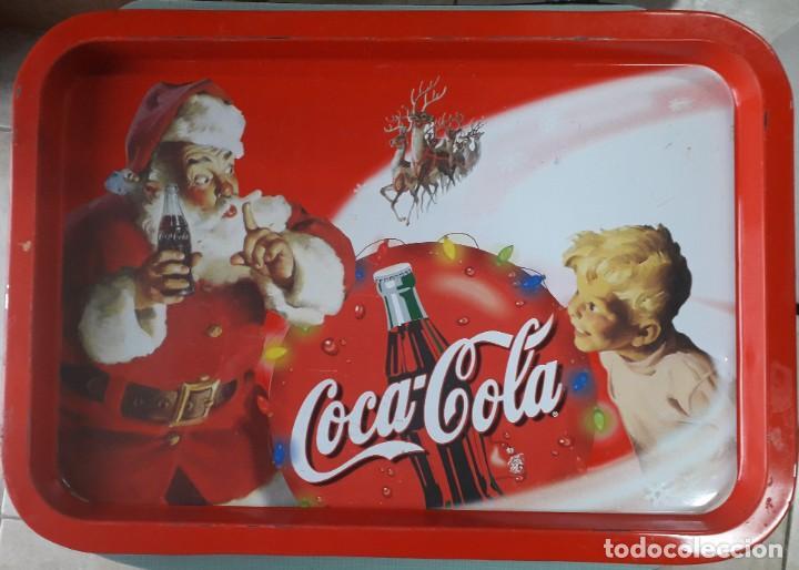 BANDEJA COCA-COLA (Coleccionismo - Botellas y Bebidas - Coca-Cola y Pepsi)