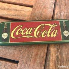 Coleccionismo de Coca-Cola y Pepsi: COCA-COLA PLUMIER CAJA LÁPICES ESCOLAR. METÁLICA 1997. Lote 188726536