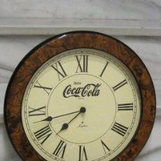 Coleccionismo de Coca-Cola y Pepsi: RELOJ COCA COLA. 39,5CM. RELOJ JUNGHANS.. Lote 189276083