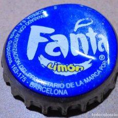 Collectionnisme de Coca-Cola et Pepsi: CHAPA CORONA FANTA LIMÓN DIRECCIÓN BARCELONA FABRICANTE -U- KRONKORKEN TAPPI CROWN CAP. Lote 214557723