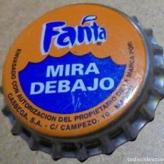 Collectionnisme de Coca-Cola et Pepsi: CHAPA CORONA FANTA MIRA DEBAJO -SIN USAR- DIRECCIÓN MADRID FABRICANTE -Z- KRONKORKEN TAPPI CROWN CAP. Lote 190099816