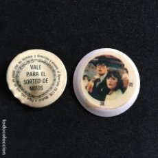 Coleccionismo de Coca-Cola y Pepsi: TAPONES BOTELLA COCA COLA SUPERMAN II DC COMICS INC. Nº 28 VALE SORTEO DE MOTOS. Lote 190140365