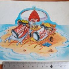 Coleccionismo de Coca-Cola y Pepsi: PEGATINA COCACOLA AÑOS 90. Lote 190391242