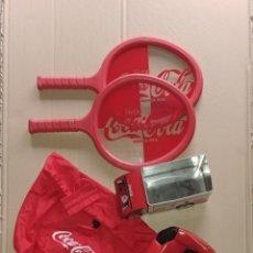 Coleccionismo de Coca-Cola y Pepsi: LOTE DE COSAS DE COCA-COLA. Lote 190645565