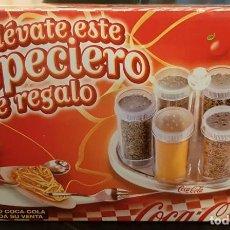 Coleccionismo de Coca-Cola y Pepsi: ESPECIERO COCA COLA **TOTALMENTE NUEVO, NUNCA USADO. Lote 190829526