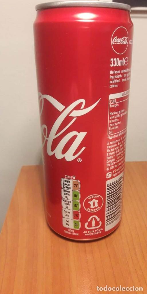 Coleccionismo de Coca-Cola y Pepsi: Lata llena 100 años de Coca Cola en Francia - Foto 3 - 190831423
