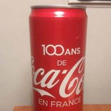 Coleccionismo de Coca-Cola y Pepsi: LATA LLENA 100 AÑOS DE COCA COLA EN FRANCIA. Lote 190831423