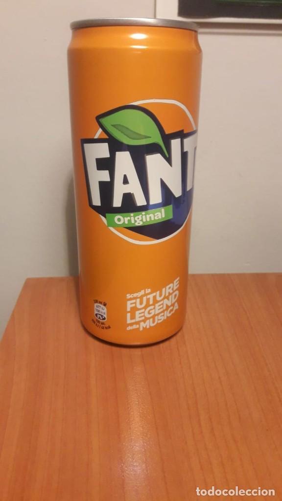 Coleccionismo de Coca-Cola y Pepsi: Lata llena Fanta Italia - Foto 5 - 190832705