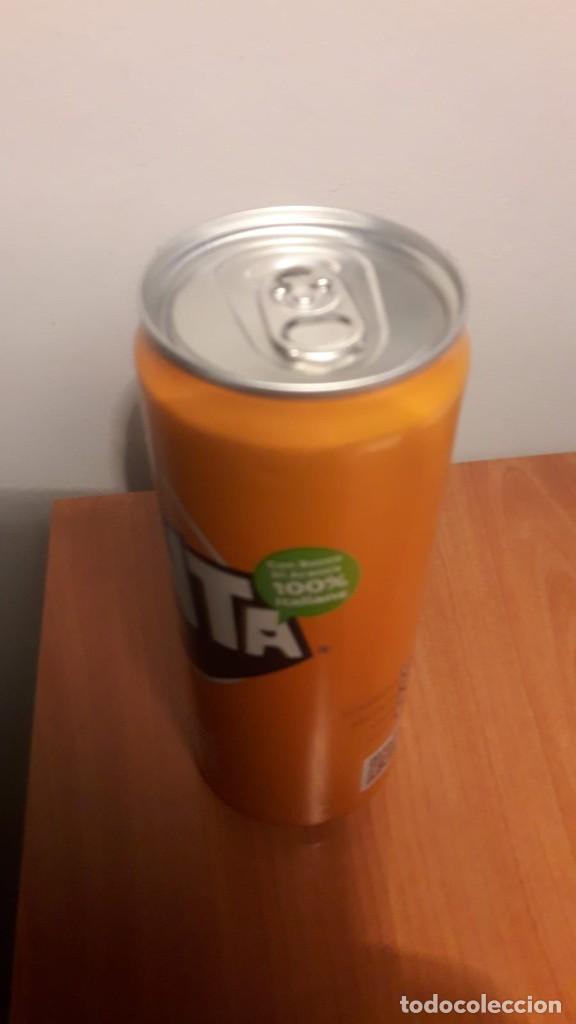 Coleccionismo de Coca-Cola y Pepsi: Lata llena Fanta Italia - Foto 2 - 190832705