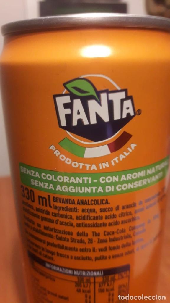 LATA LLENA FANTA ITALIA (Coleccionismo - Botellas y Bebidas - Coca-Cola y Pepsi)