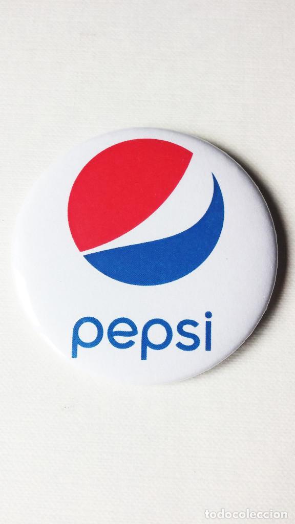 CHAPA DE PEPSI COLA - IMAN DE 58MM (Coleccionismo - Botellas y Bebidas - Coca-Cola y Pepsi)