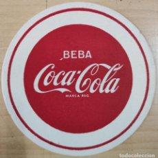 Coleccionismo de Coca-Cola y Pepsi: POSAVASOS BEBA COCA-COLA, AÑOS 60. Lote 191612287