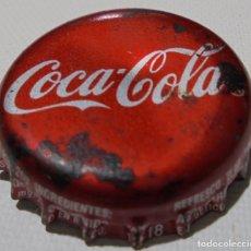 Coleccionismo de Coca-Cola y Pepsi: CHAPA CORONA COCA-COLA MONTEREY -NL- -MEXICO- FABRICANTE -FAMOSA- KRONKORKEN TAPPI. Lote 191657446