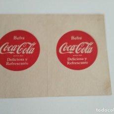 Coleccionismo de Coca-Cola y Pepsi: CAMPEONATO DE LIGA 1955-56 / 1ª DIVISION / COCA COLA DELICIOSA Y REFRESCANTE. Lote 192016988