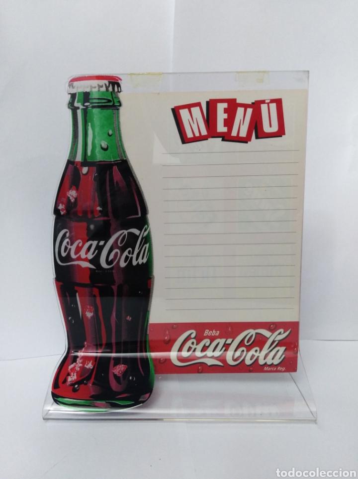 APARADOR COCA COLA COKE BOTELLA MUY RARO. AÑOS 80 O 90 PUBLICIDAD CHAPA FANTA VINTAGE (Coleccionismo - Botellas y Bebidas - Coca-Cola y Pepsi)