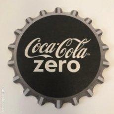 Coleccionismo de Coca-Cola y Pepsi: POSA-VASOS COCA-COLA ZERO 9CMS COCACOLA POSAVASOS. Lote 192356757