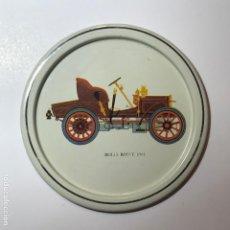 Coleccionismo de Coca-Cola y Pepsi: POSA-VASOS METAL COCHES AUTOMÓVILES ANTIGUOS 9CMS POSAVASOS. Lote 192358830