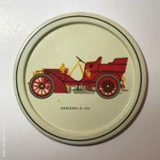 Coleccionismo de Coca-Cola y Pepsi: POSA-VASOS METAL COCHES AUTOMÓVILES ANTIGUOS 9CMS POSAVASOS. Lote 192359005