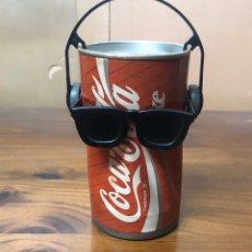 Coleccionismo de Coca-Cola y Pepsi: BOTE O LATA DE COCA COLA BAILARINA, TRADEMARK AÑOS 80,FUNCIONA. Lote 192893326