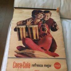Coleccionismo de Coca-Cola y Pepsi: 1963. CALENDARIO COCA-COLA DE PARED. COMPLETO. Lote 193824746