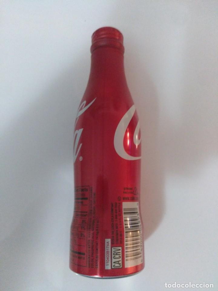 Coleccionismo de Coca-Cola y Pepsi: BOTELLA COCA COLA aluminio 8.5 OZ (E.E.U.U. 2008) - con tapón de rosca - SIN ABRIR - Foto 3 - 50254504