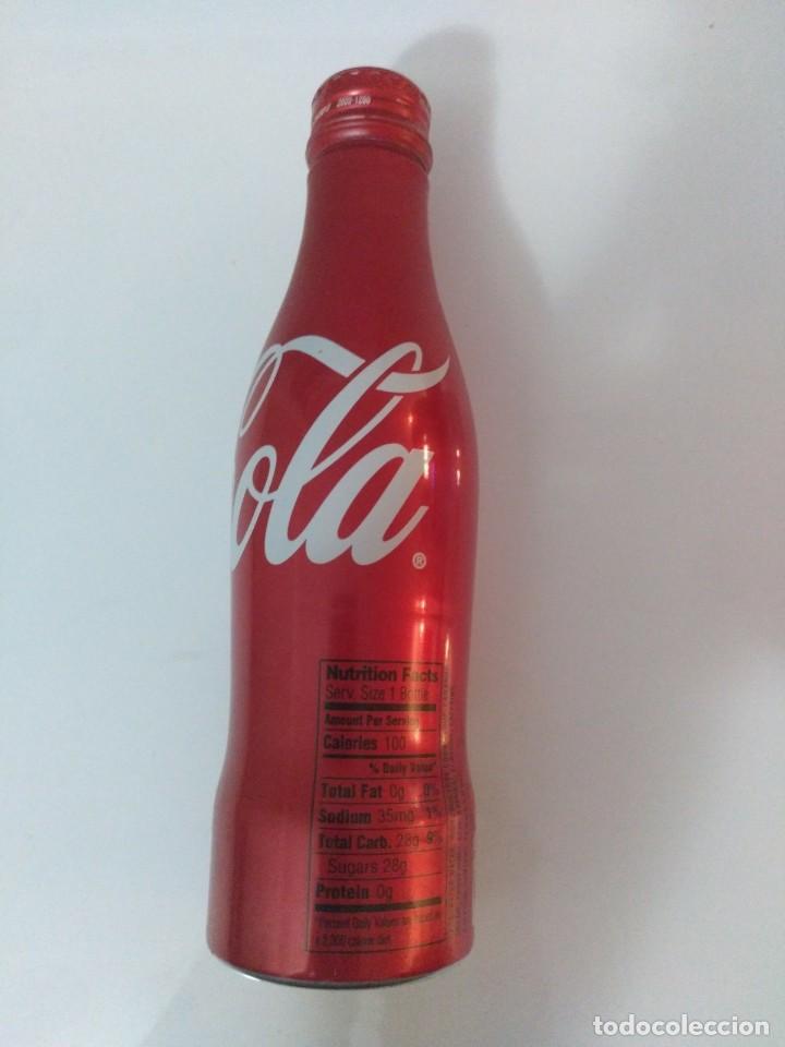 Coleccionismo de Coca-Cola y Pepsi: BOTELLA COCA COLA aluminio 8.5 OZ (E.E.U.U. 2008) - con tapón de rosca - SIN ABRIR - Foto 5 - 50254504