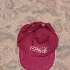 Coleccionismo de Coca-Cola y Pepsi: GORRA COCA COLA ROJA . Lote 194332948
