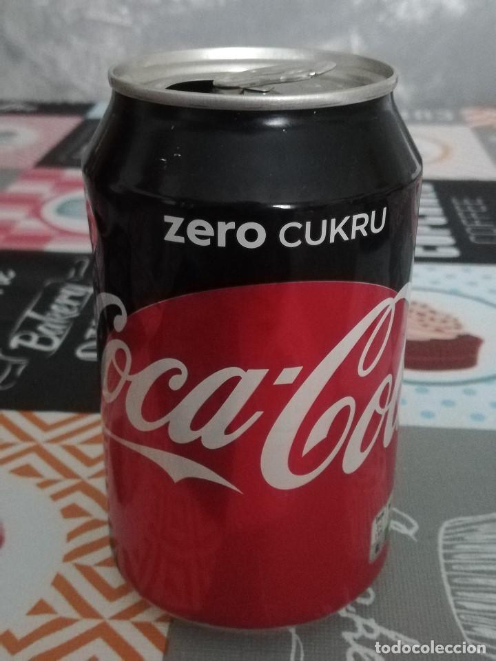 LATA VACÍA DE COCA-COLA ZERO · POLONIA (Coleccionismo - Botellas y Bebidas - Coca-Cola y Pepsi)