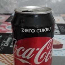 Coleccionismo de Coca-Cola y Pepsi: LATA VACÍA DE COCA-COLA ZERO · POLONIA. Lote 194367917