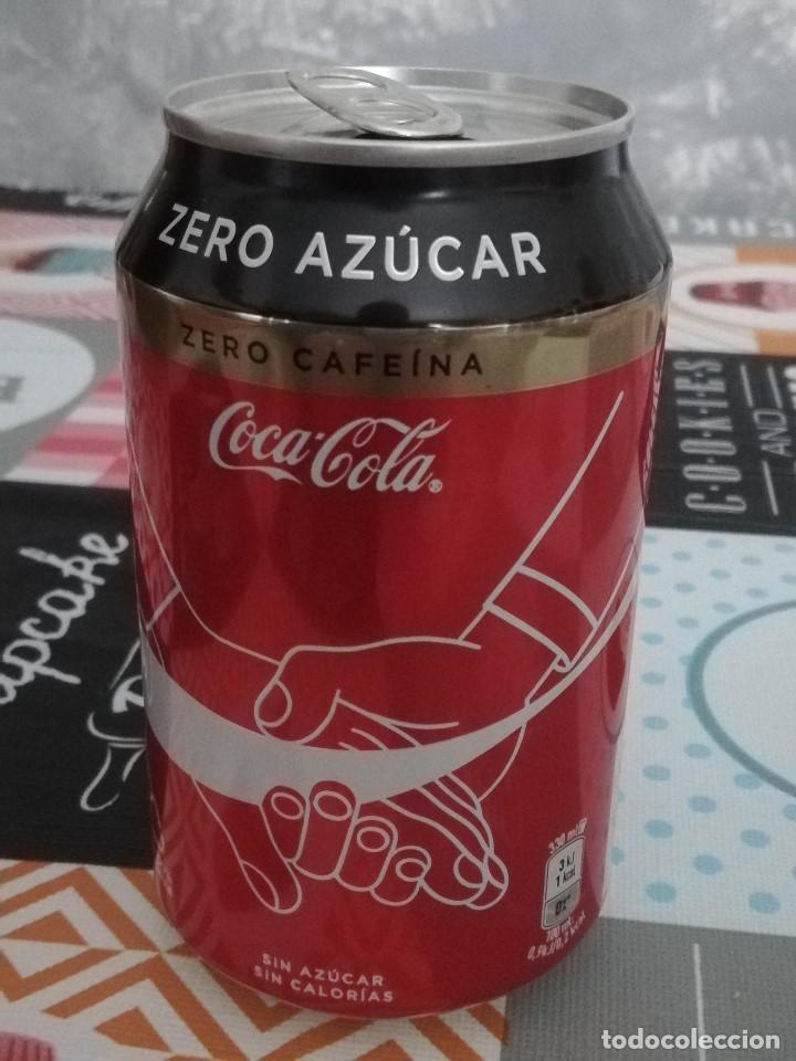 LATA VACÍA DE COCA-COLA ZERO CAFEÍNA - EDICIÓN ESPECIAL AÑO 2020: LA UNIÓN DE LAS PERSONAS - (Coleccionismo - Botellas y Bebidas - Coca-Cola y Pepsi)