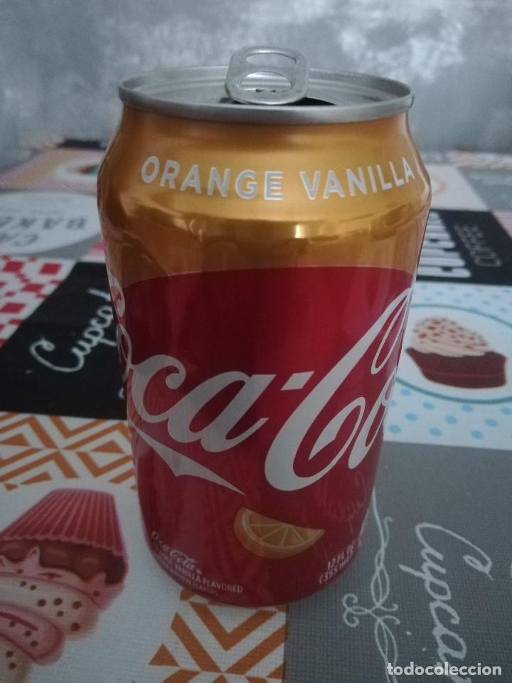 LATA VACÍA DE COCA-COLA ORANGE VANILLA (355 ML.) - ESTADOS UNIDOS, 2018 - (Coleccionismo - Botellas y Bebidas - Coca-Cola y Pepsi)