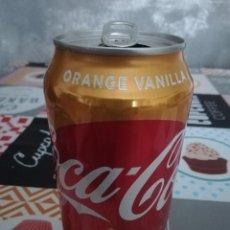 Coleccionismo de Coca-Cola y Pepsi: LATA VACÍA DE COCA-COLA ORANGE VANILLA (355 ML.) - ESTADOS UNIDOS, 2018 -. Lote 194370251
