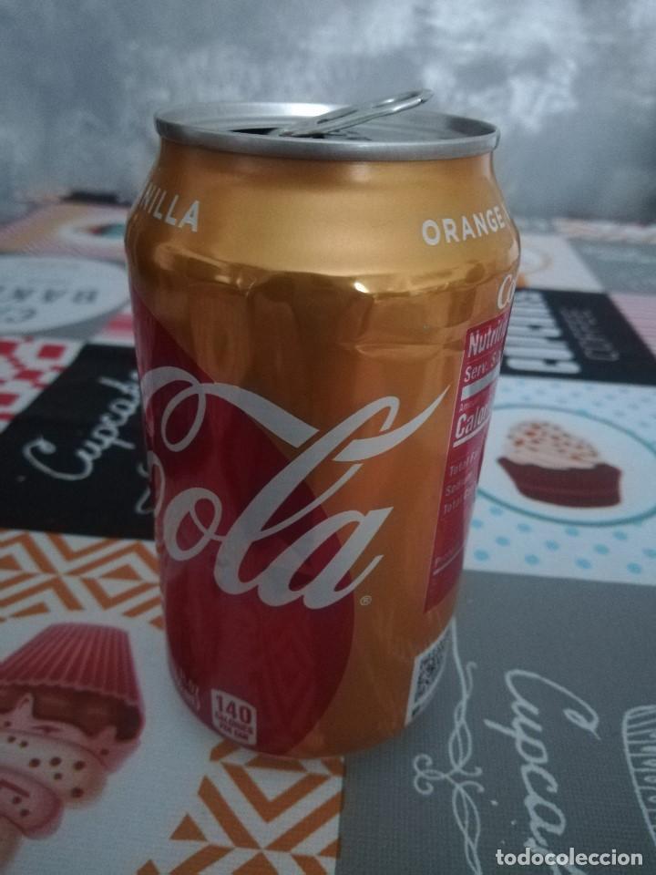 Coleccionismo de Coca-Cola y Pepsi: LATA VACÍA DE COCA-COLA ORANGE VANILLA (355 ML.) - Estados Unidos, 2018 - - Foto 2 - 194370251